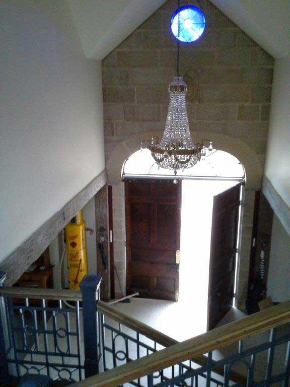 Suites entrance